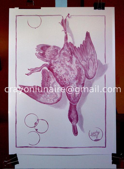 Canard colvert - Gigondas 2009