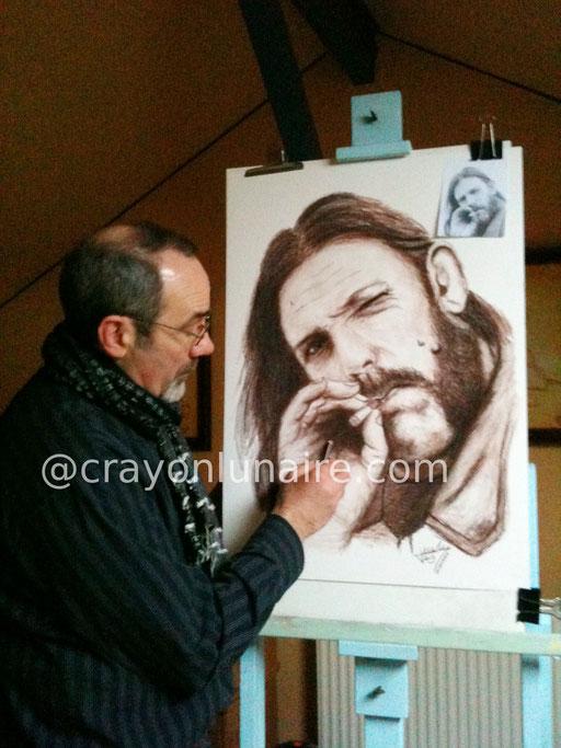 Portrait Lemmy Kilmister