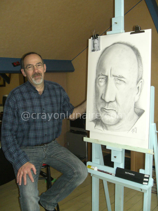 Pete Townsend by crayon lunaire