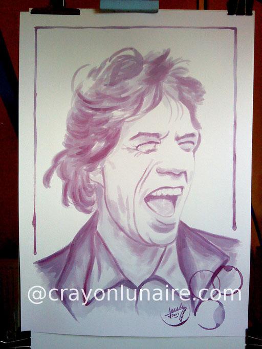 Mick Jagger : Corbières 2010.