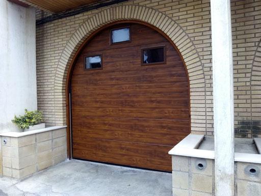 seccional imitacion madera