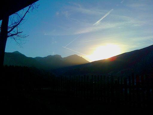 Sonne Herbst Dolomiten + sole autunno Dolomiti + sun autumn Dolomites
