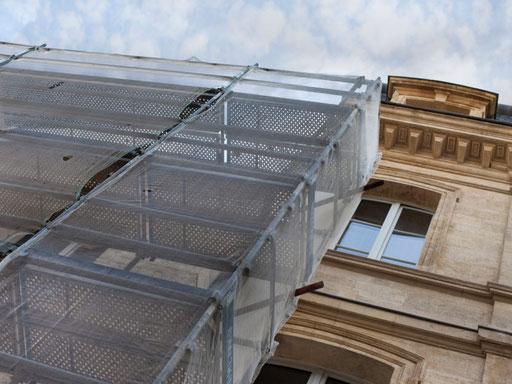 Bei der Sanierung eines Denkmalgeschützen Gebäudes durch die 3B Denkmalpflege & Bausanierung GmbH.