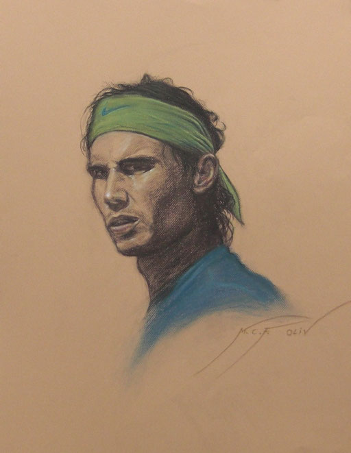 Rafa Nadal - 50 x 65 cm