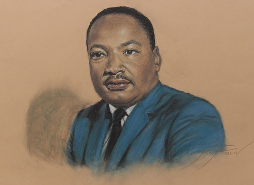 Martin Luther King - 50 x 65 cm