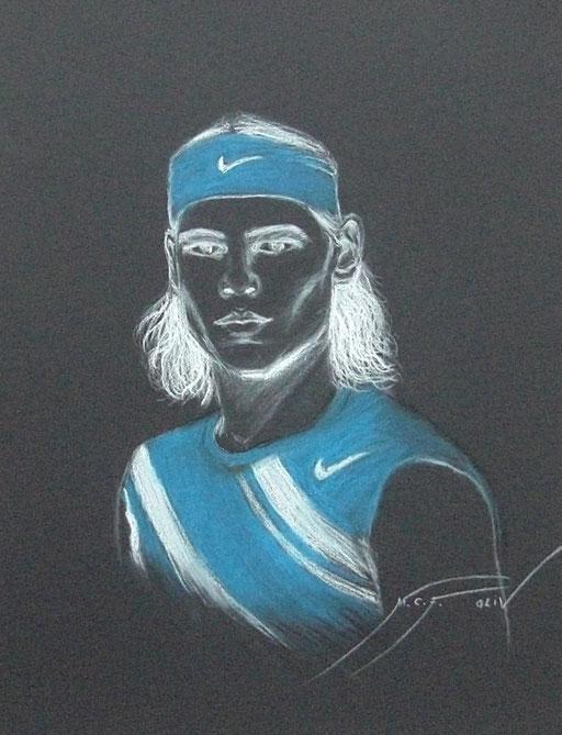 Rafa Nadal 1 - 50 x 65 cm