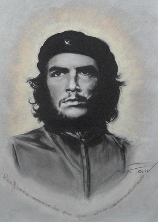 El Che - Ernesto Guevara 70 x 100 cm