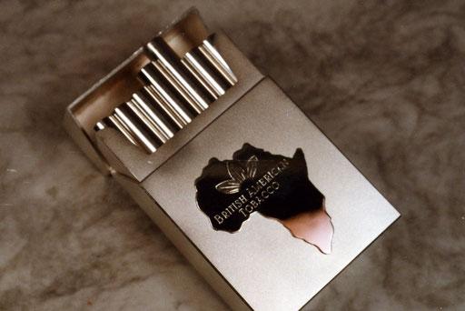 Nichts für Nichtraucher: Zigarettenpackung