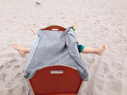Gefährliche Strandkraken am Strand