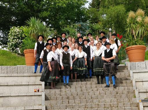 Gruppenbild am Dollenberg