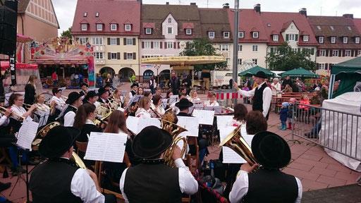 Stadtfest in Freudenstadt