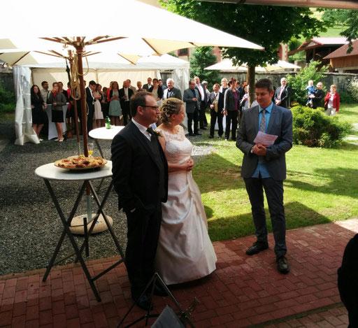 Hochzeit unserer Musikkollegen Elke und Michael Schmid