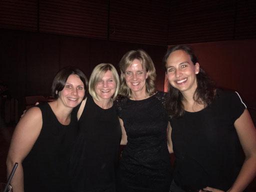 KathJoserin, Kerstin, Christine und Verena (v. l. n. r.)