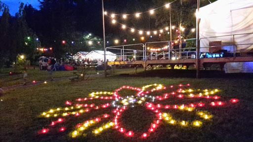 Lichterfest im Kurpark Bad Rippoldsau