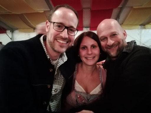 Seb, Kathrin und Dirk (v. l. n. r.)