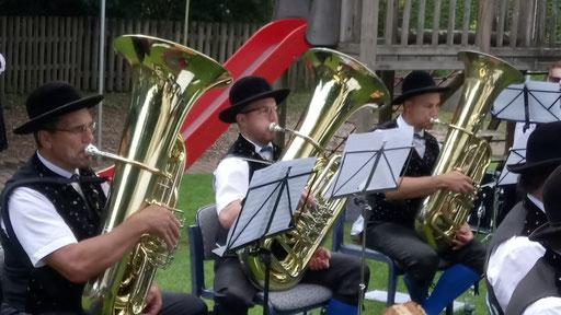 Konzert im Pfarrgarten Bad Rippoldsau