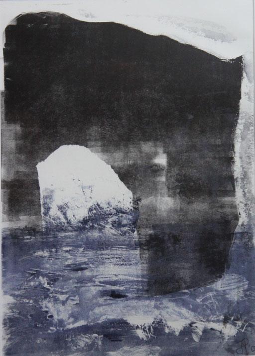 Monotypie / 26 x 37