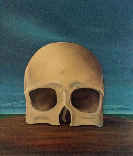 #Klassische_ Malerei#Lasurmalerei#Der_Tod#Totenkopf#Thomas#Klee