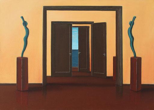 #Klassische_ Malerei#Lasurmalerei#Figuren#Türen#Durchgang#Skulpture#Thomas#Klee
