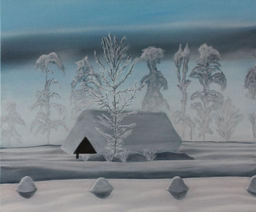 #Klassische_ Malerei#Lasurmalerei#Winterlandschaft#Salzkammergut#Bad_Ischl#Thomas#Klee