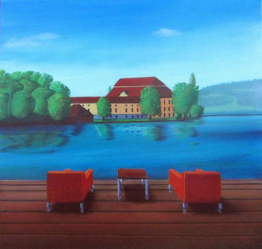 #Klassische_ Malerei#Lasurmalerei#Schloss_ Kammer#Attersee#Seewalchen#Thomas#Klee