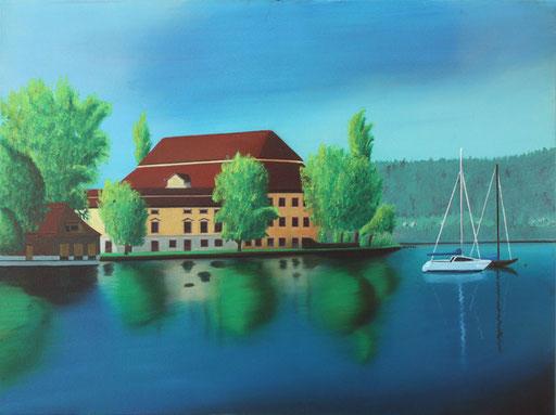 #Klassische_ Malerei#Lasurmalerei#Schloss_Kammer_am_Attersee#Seewalchen_am_Attersee#Thomas#Klee