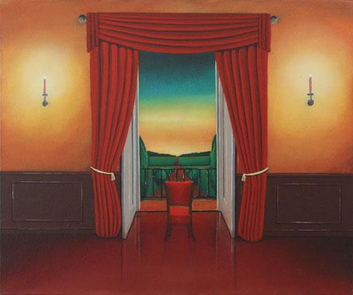 #Klassische_ Malerei#Lasurmalerei#Innen_nach_Außen#Stuhl#Thomas#Klee