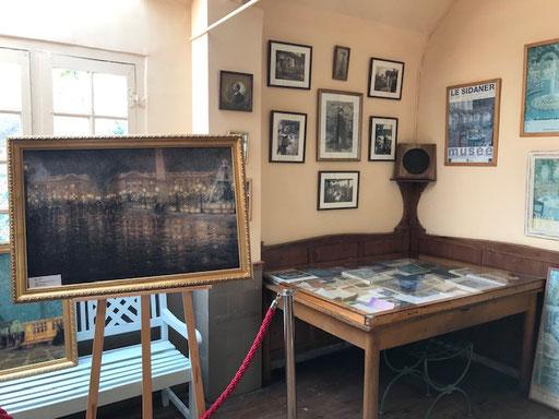 l'atelier du peintre Henri Le Sidaner - La Place de la Concorde au crépuscule