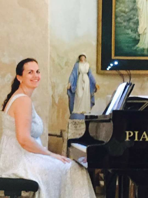 Marion Liotard: pianiste et chef de chant