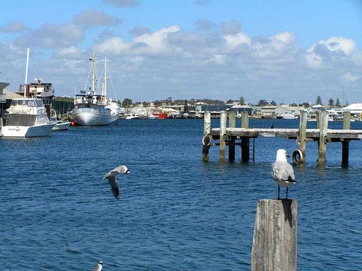 Hafen von Fremantle.