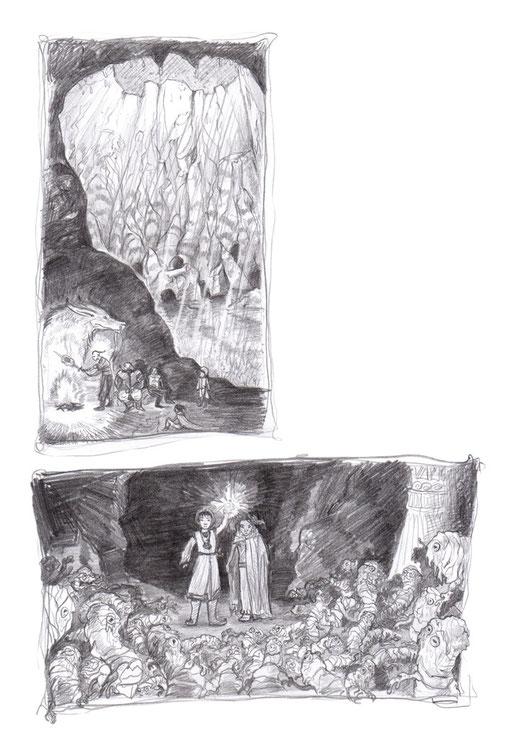 Mit den drei tapferen Herren unterwegs, Die Acharai