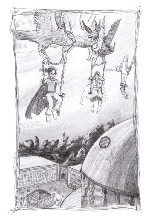 Flug zum Sternenkloster