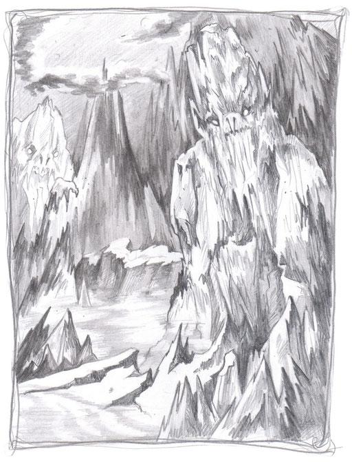 Eisbolde im Schicksalsgebirge