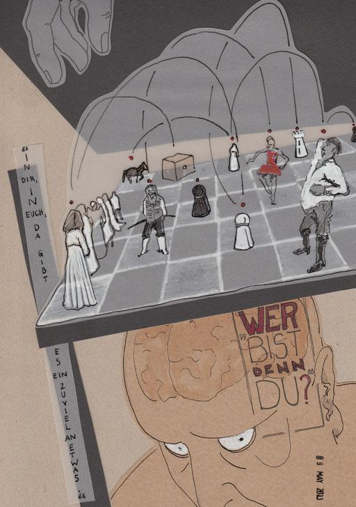 """""""Krieg und Frieden"""", Text - Leo Tolstoi, Inszenierung - Sebastian Hartmann, (Centraltheater Leipzig)"""
