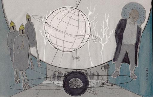 """Leben des Galilei"", Text - Bertold Brecht, Inszenierung - Armin Petras,  Koproduktion mit dem Maxim Gorki Theater Berlin (Staatsschauspiel Dresden)"