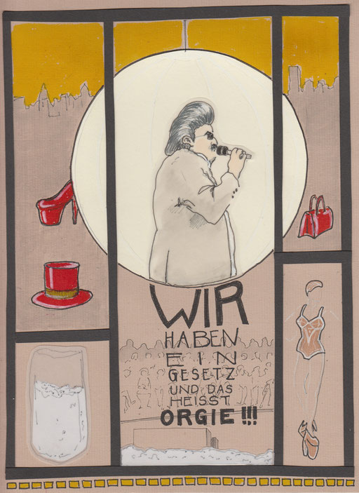"""""""Die Straße. Die Stadt.Der Überfall"""", Text - Elfriede Jelinek, Inszenierung - Johan Simons (Münchner Kammerspiele)"""