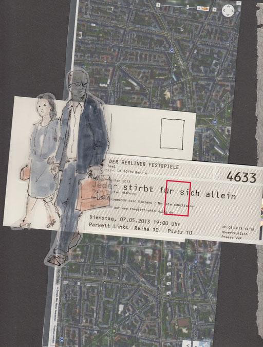 """""""Jeder stirbt für sich allein"""", Text - Hans Fallada, Inszenierung - Luk Perceval, (Thalia Theater Hamburg)"""