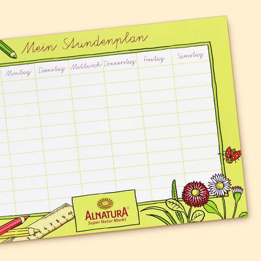 © Illustration für Alnatura Produktions- und Handels GmbH im Auftrag der Eberle GmbH Werbeagentur GWA