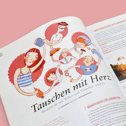 © Illustration für Handmade Kultur Verlag