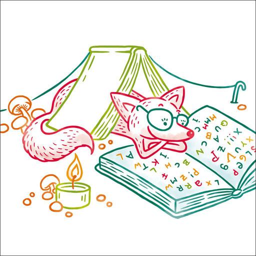 © Illustration für Stadtbücherei Esslingen