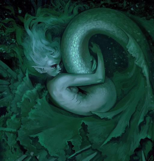 """""""Lettuce mermaid"""""""