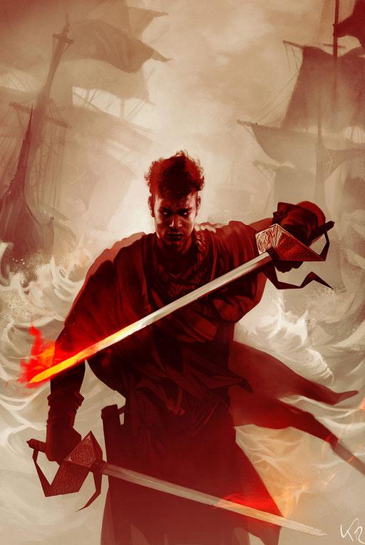 """Shades of Magic: The Rebel Army"" series, variant cover. © Titan Comics"