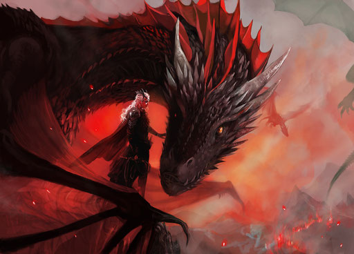 """Daenerys and Drogon"" (Game of Thrones)"