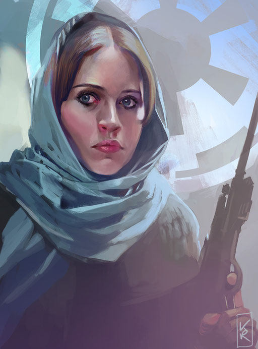 """""""Jyn Erso"""" (Rogue One)"""