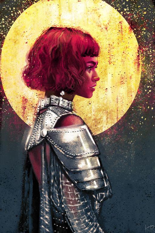 Zendaya Coleman as Joan D'Arc (Met Gala 2018)