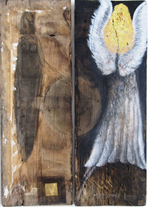 Frau und Engel  [nicht mehr käuflich]