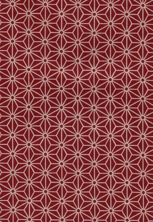 麻の葉  赤
