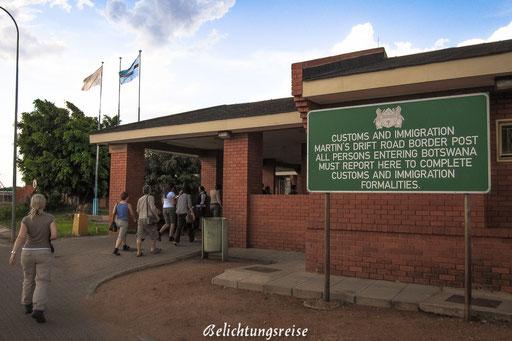 Grenzübergang zu Botswana