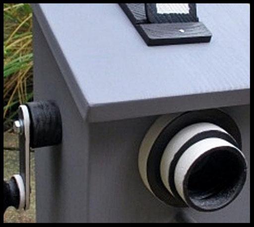 Nestkastje Camera,detail,vogelhuisjes en nestkastjes met toevoegingen