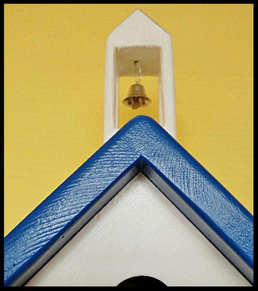 Nestkastje Klokkentoren,detail,vogelhuisjes en nestkastjes met toevoegingen